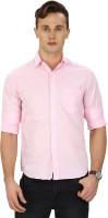 Sparky Formal Shirts (Men's) - Sparky Men's Solid Formal Pink Shirt