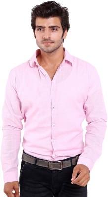 agarwal enterprices Men's Solid Casual Pink Shirt