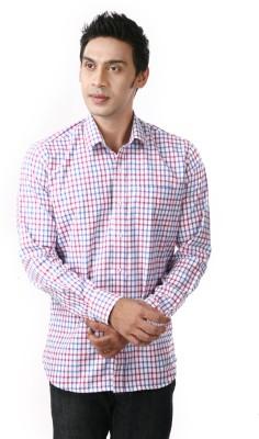 Frissk Men's Checkered Casual Multicolor Shirt