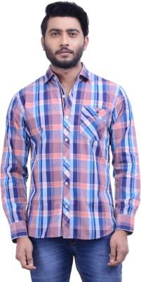Hoffmen Men's Checkered Casual Multicolor Shirt