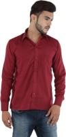 Atul Formal Shirts (Men's) - ATUL Men's Solid Formal Maroon Shirt