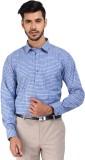 Devaa Men's Striped Formal Purple, Blue ...