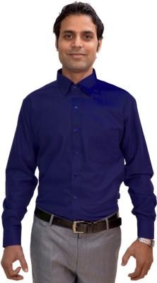 AVS Polo Men's Solid Casual Dark Blue Shirt