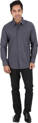 Tasho Zaara Men's Solid Casual Black Shirt