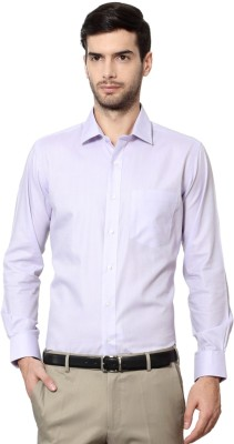 Van Heusen Men's Solid Formal Purple Shirt