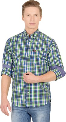 Union Street Men's Checkered Casual Multicolor Shirt