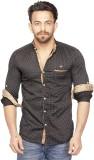 Bombay Casual Jeans Men's Polka Print Ca...