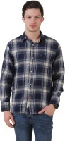 Mind The Gap Formal Shirts (Men's) - Mind The Gap Men's Checkered Formal Multicolor Shirt