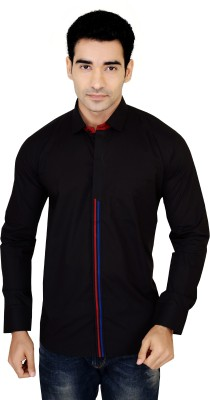 X-Secret Men's Solid Casual Multicolor Shirt