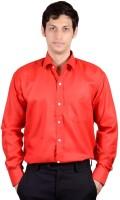 Bnzei Formal Shirts (Men's) - BNZEI Men's Solid Formal Red Shirt
