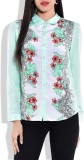 Zeupic Women's Floral Print Casual Green...