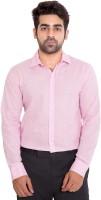 Deekshavastra Formal Shirts (Men's) - Deekshavastra Men's Solid Formal Pink Shirt