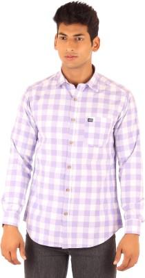 FA French America Men's Checkered Casual Multicolor Shirt
