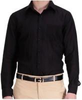 La Miliardo Formal Shirts (Men's) - LA MILIARDO Men's Solid Formal Linen Dark Blue Shirt