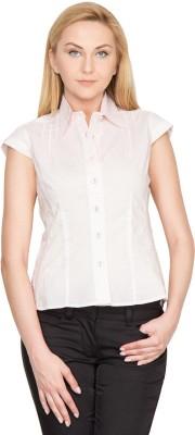 Species Women,s Solid Formal Pink Shirt