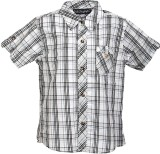Lil Poppets Boys Checkered Casual Black,...