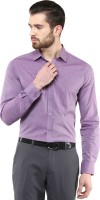 First Row Formal Shirts (Men's) - First Row Men's Solid Formal Purple Shirt