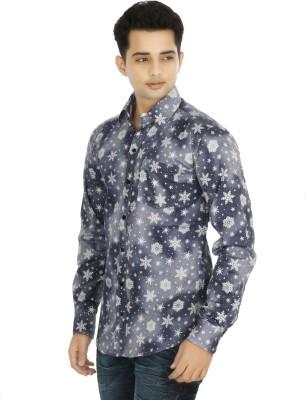 Binnote Men's Printed Casual Multicolor Shirt