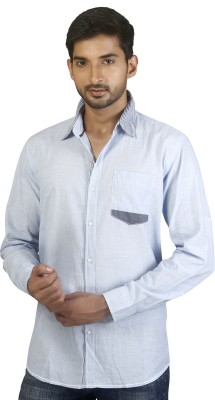 Repique Men's Solid Casual Light Blue Shirt