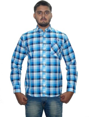 The GreeK Men's Checkered Casual Multicolor Shirt