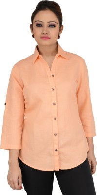 Download Apparel Women's Solid Casual, Formal Pink Shirt