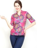 Tops and Tunics Women's Paisley Casual P...