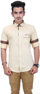 CREEDS Men's Solid Sports White Shirt