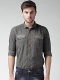 Mast & Harbour Men's Checkered Casual Gr...