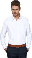 Limrha Formal Shirts (Men's) - Limrha Men's Solid Formal White Shirt