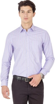 Kanva Men's Striped Casual Multicolor Shirt