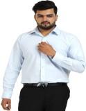 TT Men's Solid Formal Blue Shirt