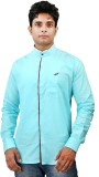 Relish Men's Solid Casual Light Blue, Ma...