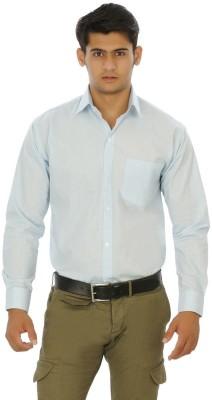 Venga Men's Solid Formal Light Blue Shirt