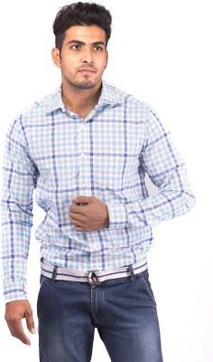 Indian Weller Men's Checkered Casual Multicolor Shirt