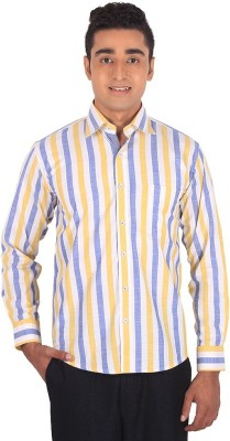 Henry Spark Men's Striped Formal Multicolor Shirt