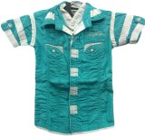 Angel Kids Boys Solid Party Blue, White ...