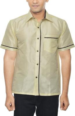KENRICH Men's Solid Casual Multicolor Shirt