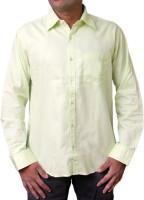 Spark Formal Shirts (Men's) - Spark Men's Solid Formal Green Shirt