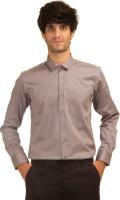 Akb Formal Shirts (Men's) - AKB Men's Solid Formal Grey Shirt