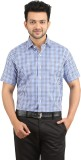Stylo Shirt Men's Checkered Casual Blue ...