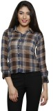 THOUSAND SHADES Women's Checkered Casual...