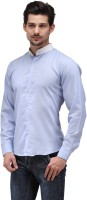 Bolt Formal Shirts (Men's) - Bolt Men's Solid Formal Blue Shirt
