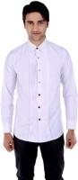 Beetle Formal Shirts (Men's) - Beetle Men's Solid Formal White Shirt