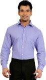 A & C Signature Men's Solid Formal Blue ...