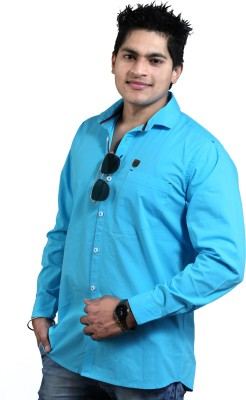 vigrollshirts Men's Solid Casual Multicolor Shirt