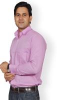 Mc john Formal Shirts (Men's) - Mc-John Men's Solid Formal Purple Shirt