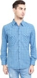 Riot Jeans Men's Checkered Casual Light ...