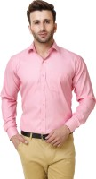 Austin m Formal Shirts (Men's) - Austin-M Men's Solid Formal Pink Shirt