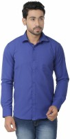 Vape Formal Shirts (Men's) - Vape Men's Solid Formal Blue Shirt