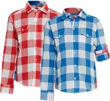 The Cranberry Club Boys Checkered Casual...
